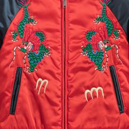 Gucci - Boys Satin Bomber Jacket | Childrensalon
