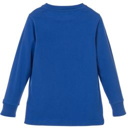 Hackett London - Boys Bright Blue Jersey Top    | Childrensalon