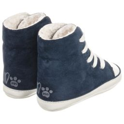 iDO Mini - Boys Blue Pre-Walker Shoes | Childrensalon