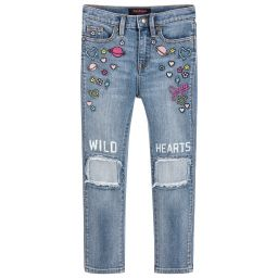 Juicy Couture - Girls Skinny Fit Jeans | Childrensalon