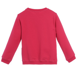 Kenzo Kids - Girls Bright Pink Tiger Sweatshirt | Childrensalon