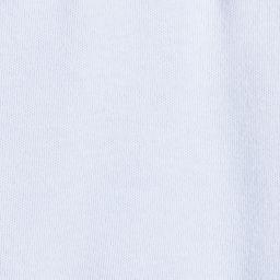 Laranjinha - Boys Blue Cotton Babygrow  | Childrensalon