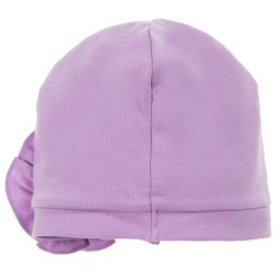 Lemon Loves Layette - Lilac Pima Cotton 'Bijou' Hat | Childrensalon