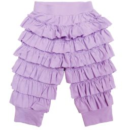 Lemon Loves Layette - Lilac Pima Cotton 'Ella' Trousers | Childrensalon