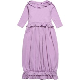 Lemon Loves Layette - Lilac Pima Cotton 'Jenna' Day Gown | Childrensalon