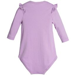 Lemon Loves Layette - Lilac Pima Cotton 'Madison' Bodysuit | Childrensalon