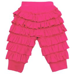 Lemon Loves Layette - Pink Pima Cotton 'Ella' Trousers | Childrensalon