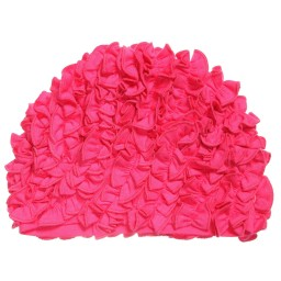 Lemon Loves Layette - Pink Pima Cotton 'Isabel' Hat with Frills | Childrensalon