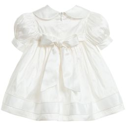 Little Darlings Occasion - Baby Girls Ivory Silk 'Daisy' 3 Piece Outfit | Childrensalon