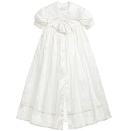 Little Darlings Occasion - Ivory Silk Ceremony Gown | Childrensalon