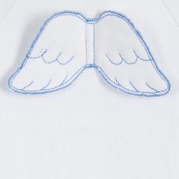 Marie-Chantal - Blue Angel Wings Baby Shortie | Childrensalon