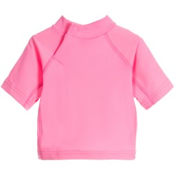 Mitty James - Baby Girls Pink Sun Protective Top (UPF 50+) | Childrensalon
