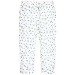 Moon et Miel - Baby Girls Bird Print Trousers  | Childrensalon
