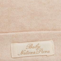 Naturapura - Beige Organic Cotton Baby Hat    | Childrensalon