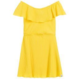 03ae41d085d NIK NIK - Girls Yellow Pleated Dress