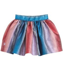 No Added Sugar - Girls Colourful Metallic Skirt | Childrensalon
