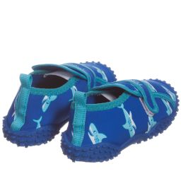 Playshoes - Blue 'Shark' Aqua Shoes | Childrensalon