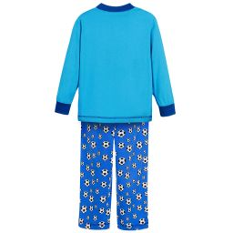 Playshoes - Boys Blue Cotton Pyjamas | Childrensalon