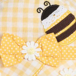 Powell Craft - Girls Yellow Bee Hat | Childrensalon
