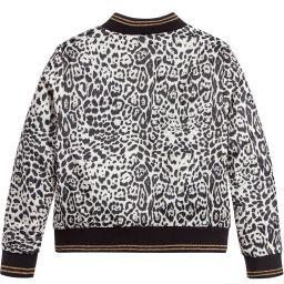 Roberto Cavalli - Girls Leopard Print Jacket  | Childrensalon