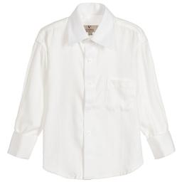 Romano Vianni - Boys Ivory Cotton Shirt  | Childrensalon