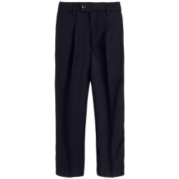 Romano - Boys Navy Blue Trousers | Childrensalon