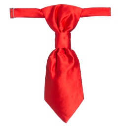 Romano Vianni - Boys Red Waistcoat & Adjustable Tie Set | Childrensalon