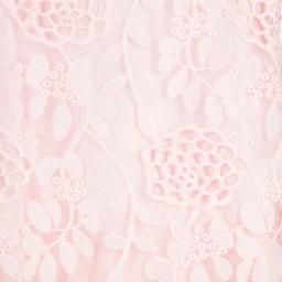 Romano Princess - Girls Pink Floral Lace Dress | Childrensalon