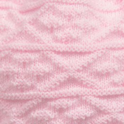 Satila of Sweden - Pink Knitted Large Pom-Pom Hat | Childrensalon