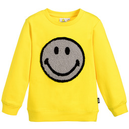 Smiley Originals - Yellow Logo Sweatshirt | Childrensalon