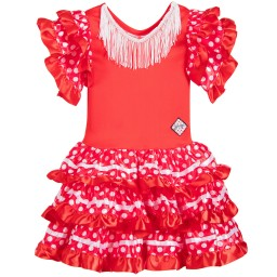 Souza - Girls Red 'Marisol' Dressing Up Costume  | Childrensalon