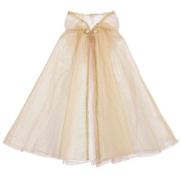 Souza - Gold Tulle Costume Cape | Childrensalon