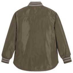 Stella McCartney Kids - Boys Green Checked Jacket | Childrensalon