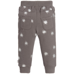 The Little Tailor - Girls Grey Joggers | Childrensalon