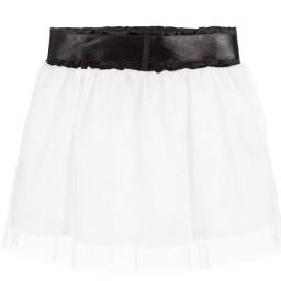 The Tiny Universe - Baby Girls White Tulle Skirt  | Childrensalon