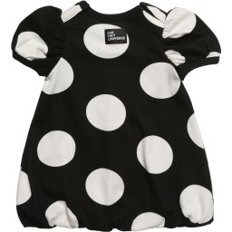 The Tiny Universe - Black 'The Tiny Dot' Jersey Dress | Childrensalon