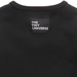 The Tiny Universe - Black Tuxedo Babysuit | Childrensalon