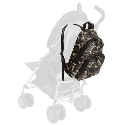 TIBA + MARL - Green Camouflage Baby Changing Backpack (42cm) | Childrensalon