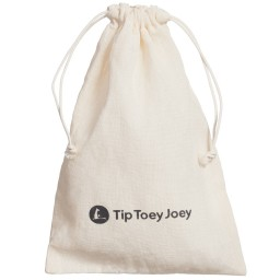Tip Toey Joey - Baby Girls Metallic Gold 'Fancy Fan' Bow Shoes | Childrensalon