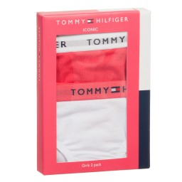 Tommy Hilfiger - Girls Cotton Bikini Briefs (Pack of 2) | Childrensalon