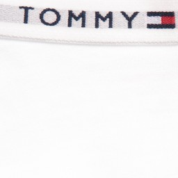 Tommy Hilfiger - Girls White Cotton Shorty Briefs (Pack of 2) | Childrensalon