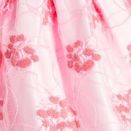 ValMax - Girls Embroidered Pink Dress    Childrensalon