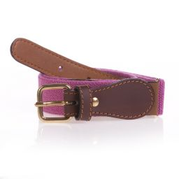 Zaccone - Girls Purple Elasticated Belt  | Childrensalon