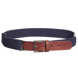 Zaccone -  Navy Blue Elasticated Belt | Childrensalon