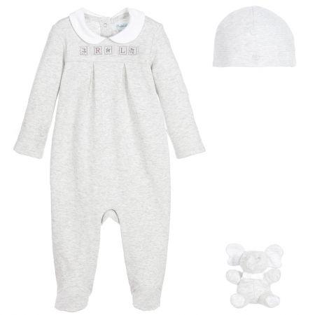 Babygrow, Hat & Toy Gift Box Set