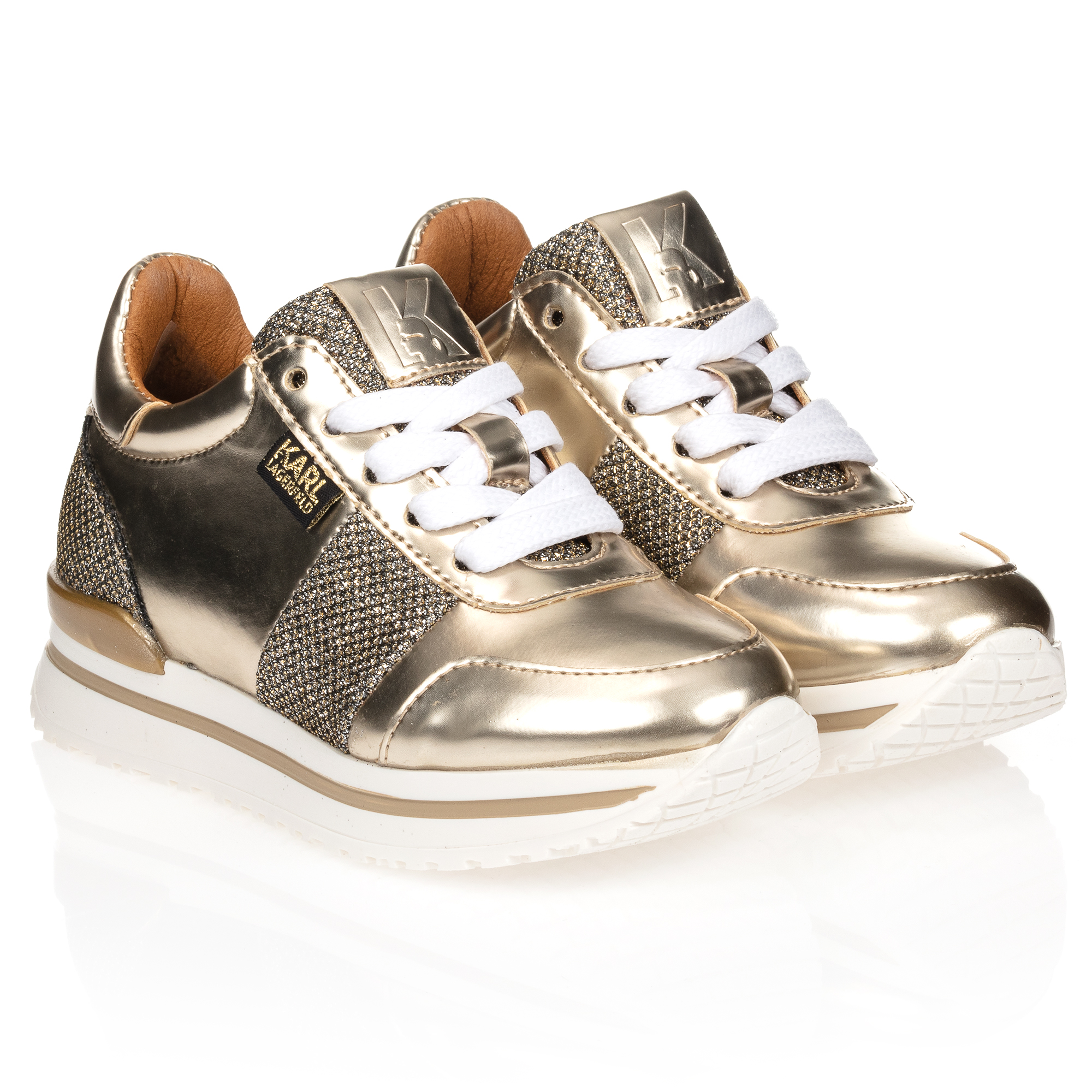 KARL LAGERFELD KIDS - Metallic Gold